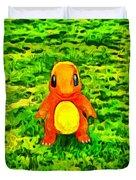 Pokemon Go Charmander - Da Duvet Cover