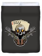 Poker Run Duvet Cover