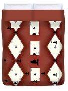 Poker Sharks Duvet Cover