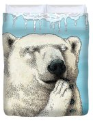 Polar Prayer Duvet Cover