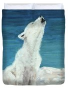 Polar Pup Duvet Cover