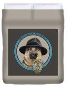 Police Dog Duvet Cover