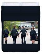Police Pants Duvet Cover