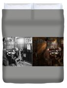 Police - The Private Eye - 1902 - Side By Side Duvet Cover