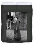 Policewoman, 1909 Duvet Cover