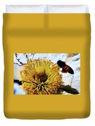 Pollinating Duvet Cover