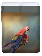 Polly Want A Cracker Duvet Cover