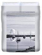 Reflections In A Creek  Duvet Cover