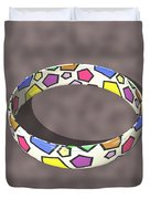 Poly Ring  Duvet Cover