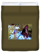 Polydamas Swallowtail Butterfly Duvet Cover