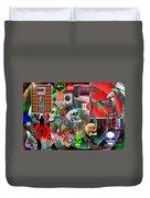 Polyester Plaid Duvet Cover