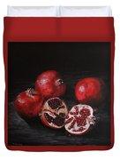 Pomegranates Duvet Cover