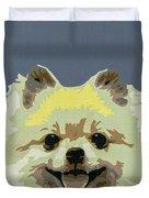 Pomeranian Duvet Cover