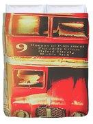 Pommy Promenade Duvet Cover