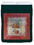 Pompeii Pomegranate Still Life Fresco 1 Duvet Cover