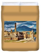 Pompeii Redeux Duvet Cover