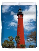 Ponce Inlet Lighthouse Duvet Cover