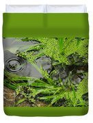 Pond Abstract I Duvet Cover