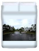 Pond At Alys Beach Duvet Cover by Megan Cohen