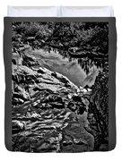 Pond At Great Falls #4 Duvet Cover