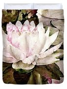 Pond At Water House Duvet Cover