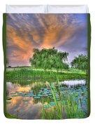 Pond Dreams 4 Duvet Cover