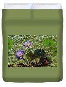 Pond Florals Duvet Cover