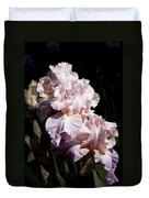 Pond Lily Iris  Duvet Cover