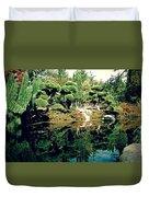 Pond Of Mirrors Duvet Cover