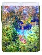 Pond Overlook Duvet Cover