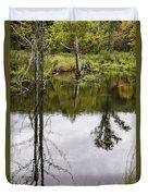 Pond Reflections Duvet Cover