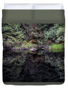 Pond Reflections -- Tongass National Forest Alaska Duvet Cover