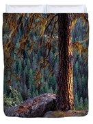 Ponderosa Pine Duvet Cover