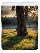 Ponderosa Pine Meadow Duvet Cover
