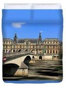 Pont Du Carrousel Duvet Cover