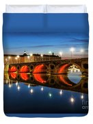 Pont Neuf In Toulouse Duvet Cover