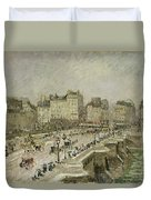 Pont Neuf Snow Effect Duvet Cover