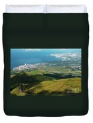 Ponta Delgada And Lagoa Duvet Cover