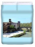 Ponte Cestio Duvet Cover