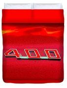 Pontiac Firebird 296 Duvet Cover