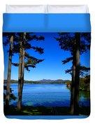 Pontoosuc Folaige 2 Duvet Cover