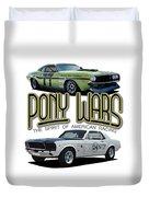 Pony War Classics Duvet Cover