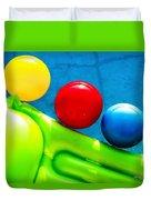 Pool Toys Duvet Cover