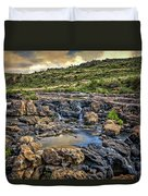 Pools And Waterfalls Duvet Cover