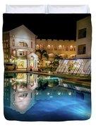 Poolside Boracay Duvet Cover