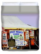 Poor Monkey's Juke Joint Duvet Cover
