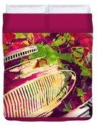 Pop Art Austin  Duvet Cover