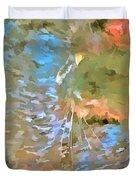 Pop Art Cat Duvet Cover