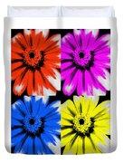 Pop Art Petals Duvet Cover