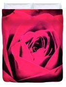 Pop Art Rose Duvet Cover